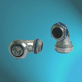 External Thread PV Zinc Alloy 90℃ Connectors