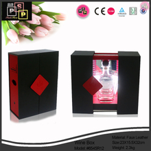 Wine Box Manufacturer Leather LED Light Wine Box/Wine Case/Wine Holder