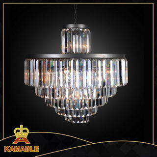 Luxury and gorgeous effect crystal pendant light for hotel( D6000-22IO )