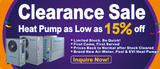 SPRSUN Heat Pump Clearance Sale Now On - As Low As 15% OFF