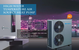 Benefits of High Temp Air Source Heat Pumps to Businesses