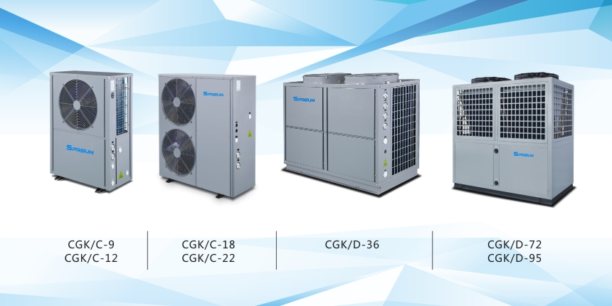 5P Air to Water Heat Pump Related Models