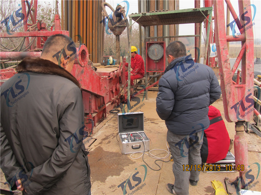 TLS Technologies Borehole Inspection Camera Application Case-Tongxiang Zhejiang logging field-03