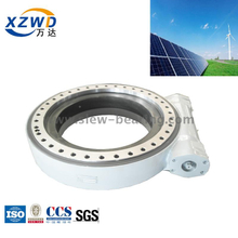 Spur Gear Slew Rate Control Driver for Solar Tracking Systems