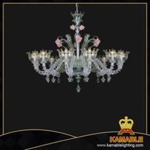 Murano style hotel decorative lighting clear color murano style beautiful murano style glass chandelier81068 12 aloadofball Gallery
