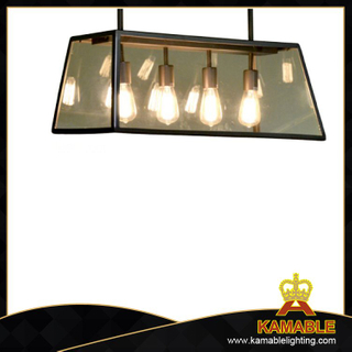 Glass shade clear decorative industrial pendant lamp (SG72)