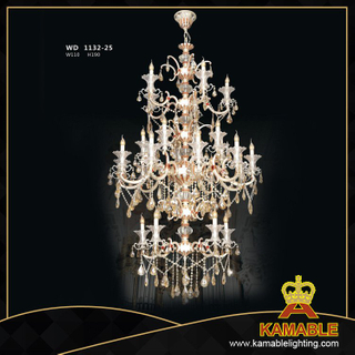 Brass Decorative Classical style pendant chandelier(WD1132-25)