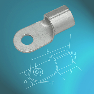 Un-insulated Ring Terminals-DIN46234