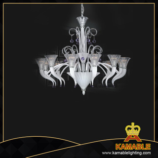 Home big glass Murano style home glass chandelier(81020-12)