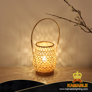 Newly weave decorative desk lamp for home lights (KA-T13)