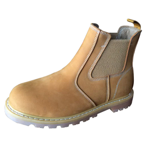 GY006 USA style stylish nubuck leather goodyear safety shoes