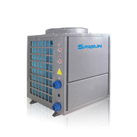 7.5KW-21KW 80C Commercial High Temperature Air Source Heat Pump Water Heater