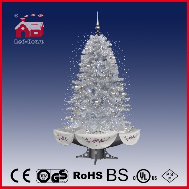 (40110U170-SS) New Style Snowing Christmas Tree with Music and LED Lights