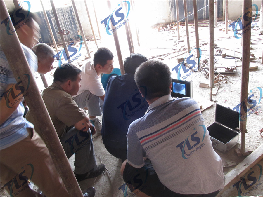 TLS Technologies Borehole Inspection Camera Application Case-Seismological Bureau of Tianjin logging field-06