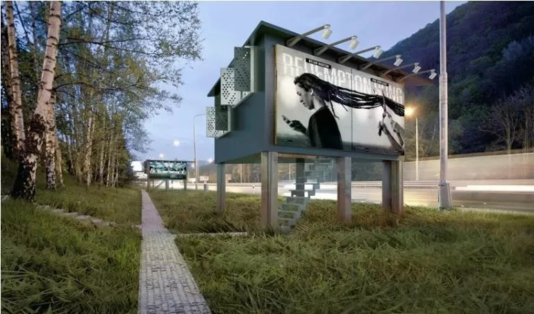 Outdoor house Billboard