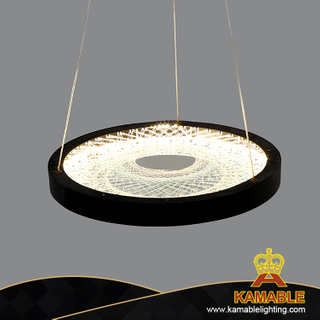 Special Design Shop Interior Decoration Fishing Net LED Black Pendant Lamp (KJ035)