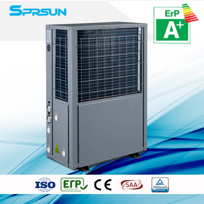 9.5KW 13.8KW Monoblock Air Source Heat Pump for Domestic Hot Water and House Heating
