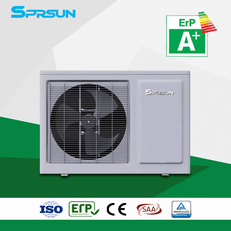Domestic Monoblock Air Source Heat Pump Hot Water Heater Max Temp 60℃