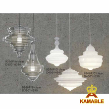 Modern Glass Pendant Lamp For Home Decorative (KA9266P)