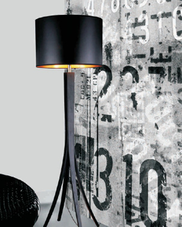 Contemporary Wood, PVC Floor Lamp for Living Room (1093F)