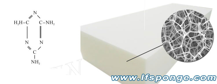 melamine-foam-for-sound - matériaux absorbants de lfsponge