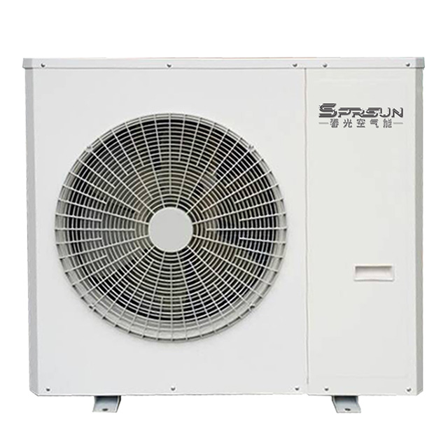9KW EVI DC Inverter Low Temperature Air to Water Heat Pump for Heating and Cooling