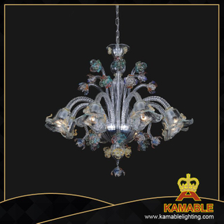 Hanging Dining room Murano glass chandelier(81122-8)