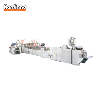 WFD-350/450/550A Fully Automatic Sheet Feed Paper Bag with Handle Machine