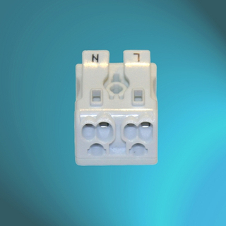 Push Wire Connectors - 2 Poles