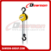 DS-DF-B25 250kg Mini Type Chain Blocks, 0.25Ton Chain Hoist for Installing of Machinery