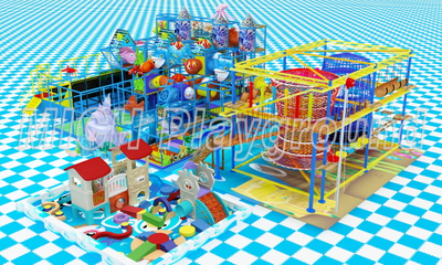 Mich Funny Indoor Amusement Playground 6634B