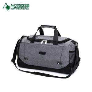 Cheap Expandable Large Multifunctional Polyester Travel Bag with Shoulder Stripe