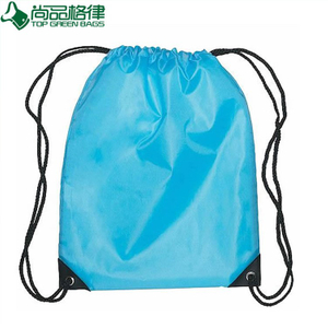 Wholesale Cute Strong Bag, Polyester Drawstring Backpack (TP-dB225)