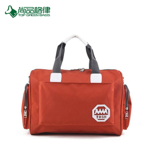 High Quality Finish Custom Simplicity Polyester Travel Luggage Bag