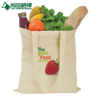Customized Budget Cotton Canvas Tote Bag Shopping Cotton Shoulder Bag (TP-SP667)