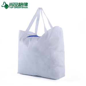 Hottest customized logo non woven foldable bag reusable folding tote bag (TP-FB224)