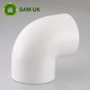 plastic schedule 40 UPVC pipe glue elbow fittings for plumbing