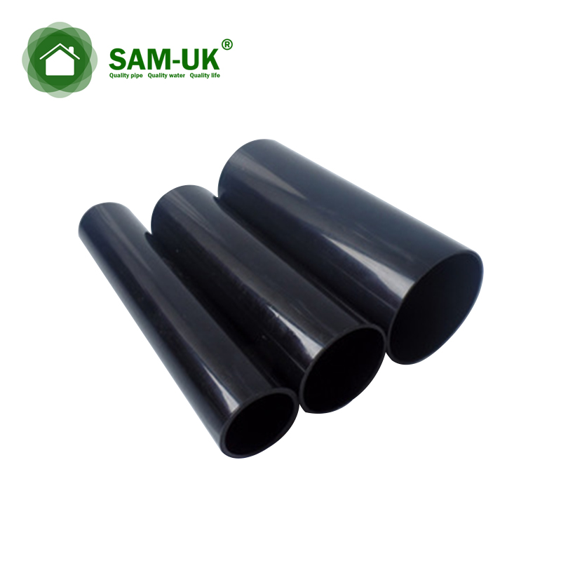 black 4 inch Schedule 40 thin wall kitchen sink PVC pipe