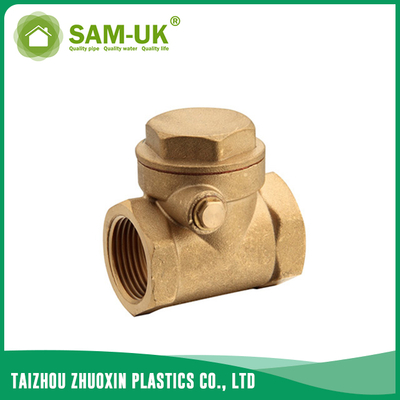 Brass gate check valve for water supply