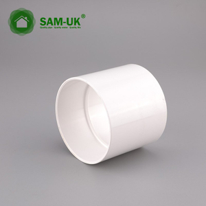 6 inch schedule 40 PVC sewer pipe coupling
