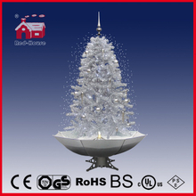 (40110U150-SW) Customized Unique Snowing Christmas Tree for Decoration with LED Lights