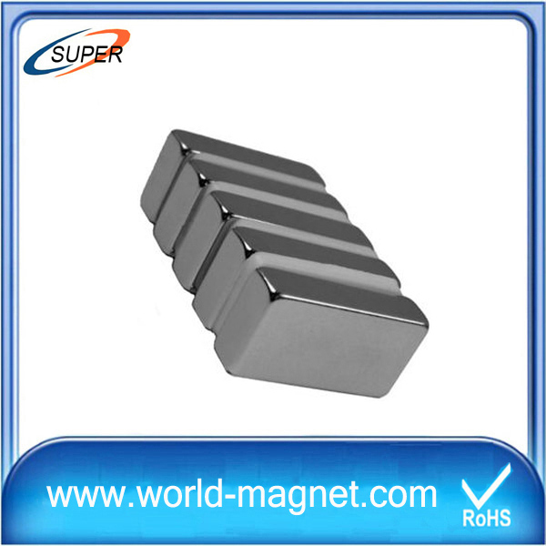 China Wholesale Custom neodymium n42 block magnets (ROHS)