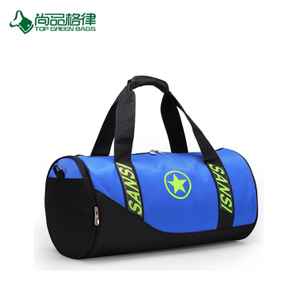 2017 Wholesale Cheap Large Capacity Sport Duffel Bags Travel Bags with Shoe Compartment
