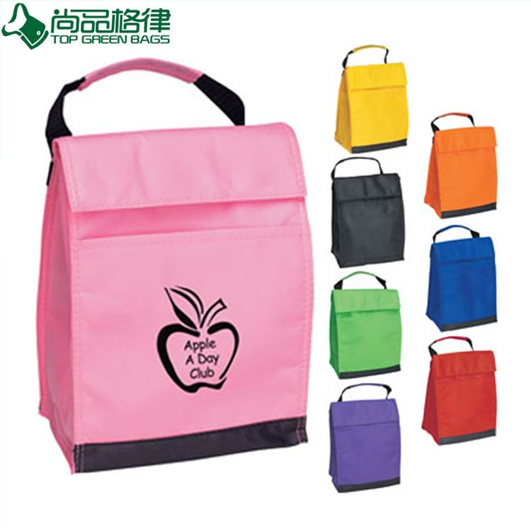 Promotion Green Polyester Picnic Lunch Cooler Bag (TP-CB342)