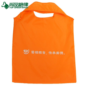 Wholesale Portable fancy color foldable polyester shopping bag (TP-FB204)