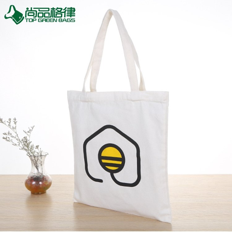 Custom Eco Friendly 100% Cotton bag Reusable Grocery Bags With Logo (TP-SP616)