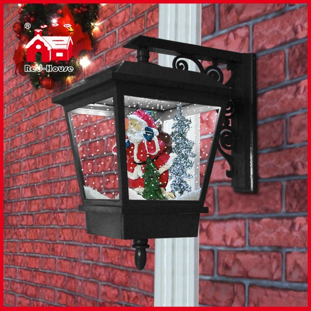 (LW40045D-H) Snowing Wall Lamp LED Christmas Light Home Decoration