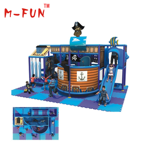 Indoor playground foam