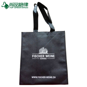 Custom Made Non-Woven Promotional Wine Bags (TP-WB007)