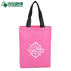 Wholesale fashion promotional custom printed non woven reusable shopping bag (TP-SP666)